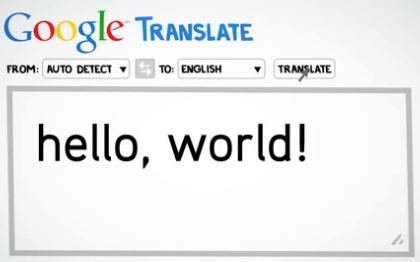 What happens when you Google Translate?